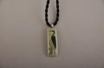 Herron Silhouette Tea Green Necklace