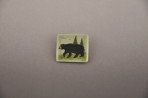 Bear Tea Green Pin