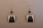 Black Cat Earrings