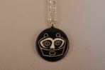 She Who Watches Necklace – Black
