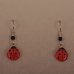 Small Ladybug Earrings