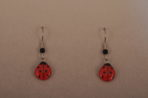 Small Ladybug Earrings